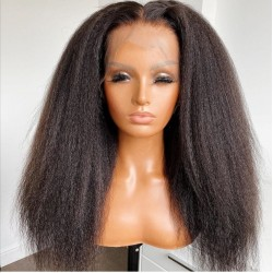 Front lace wig - kinky...